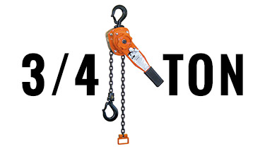 3/4-Ton Ratchet Lever Hoists