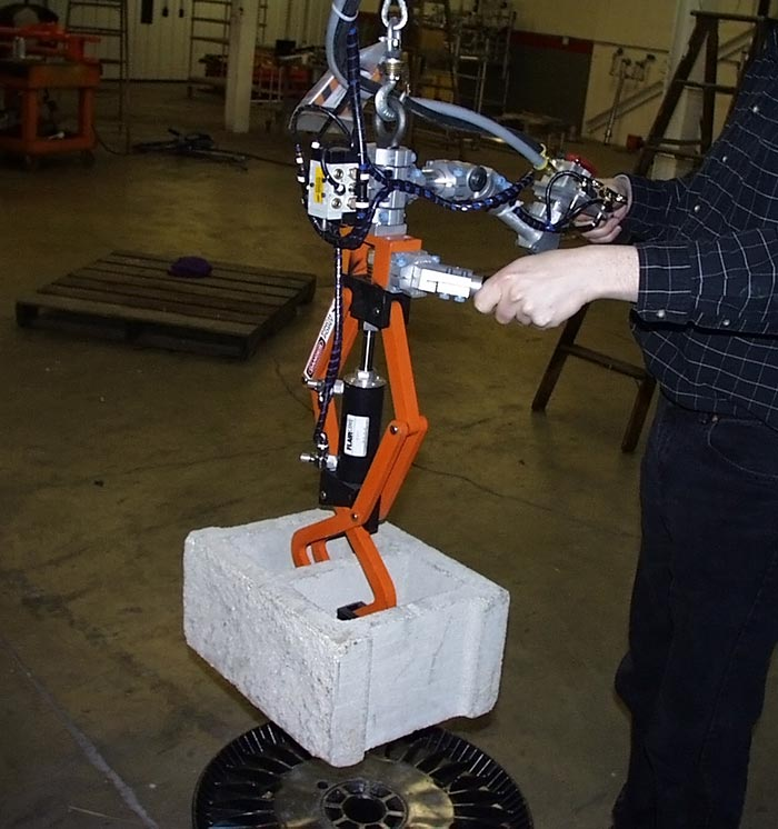 Concrete Block Lifter