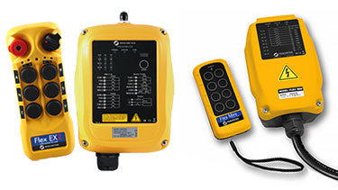 Handheld Crane Radio Remote Controls