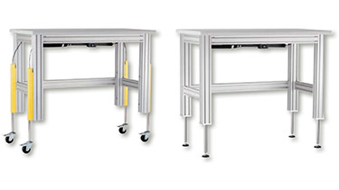 Adjustable Height Work Table Lifting Systems Dyna Lift