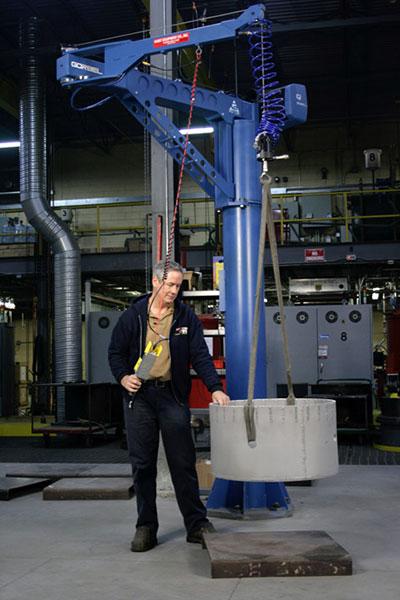 Gorbel G Force Gorbel Hoist And Zero Gravity Lift