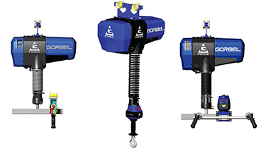 1 To 5 Ton Electric Chain Hoists By Cm Coffing Budgit