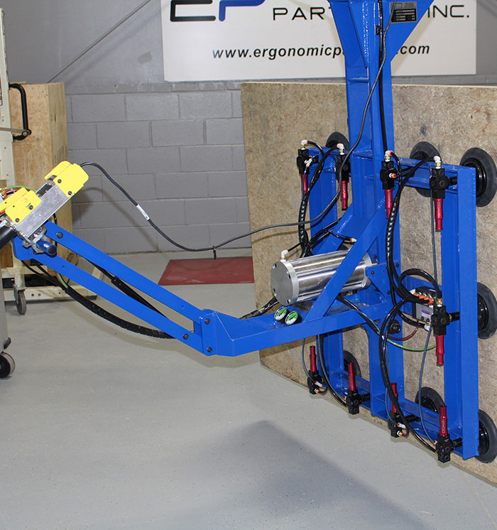Plywood Vacuum Lift and Rotate