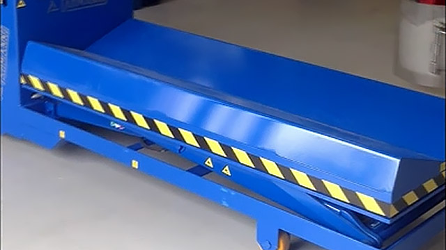 Portable Electric Lift Table for 2000 pound Rolls