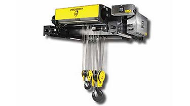 R&M Spacemaster SX Wire Rope Hoist High Capacity Applications