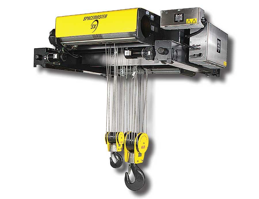 R&M Spacemaster | R&M Hoist | Electric Rope Hoist