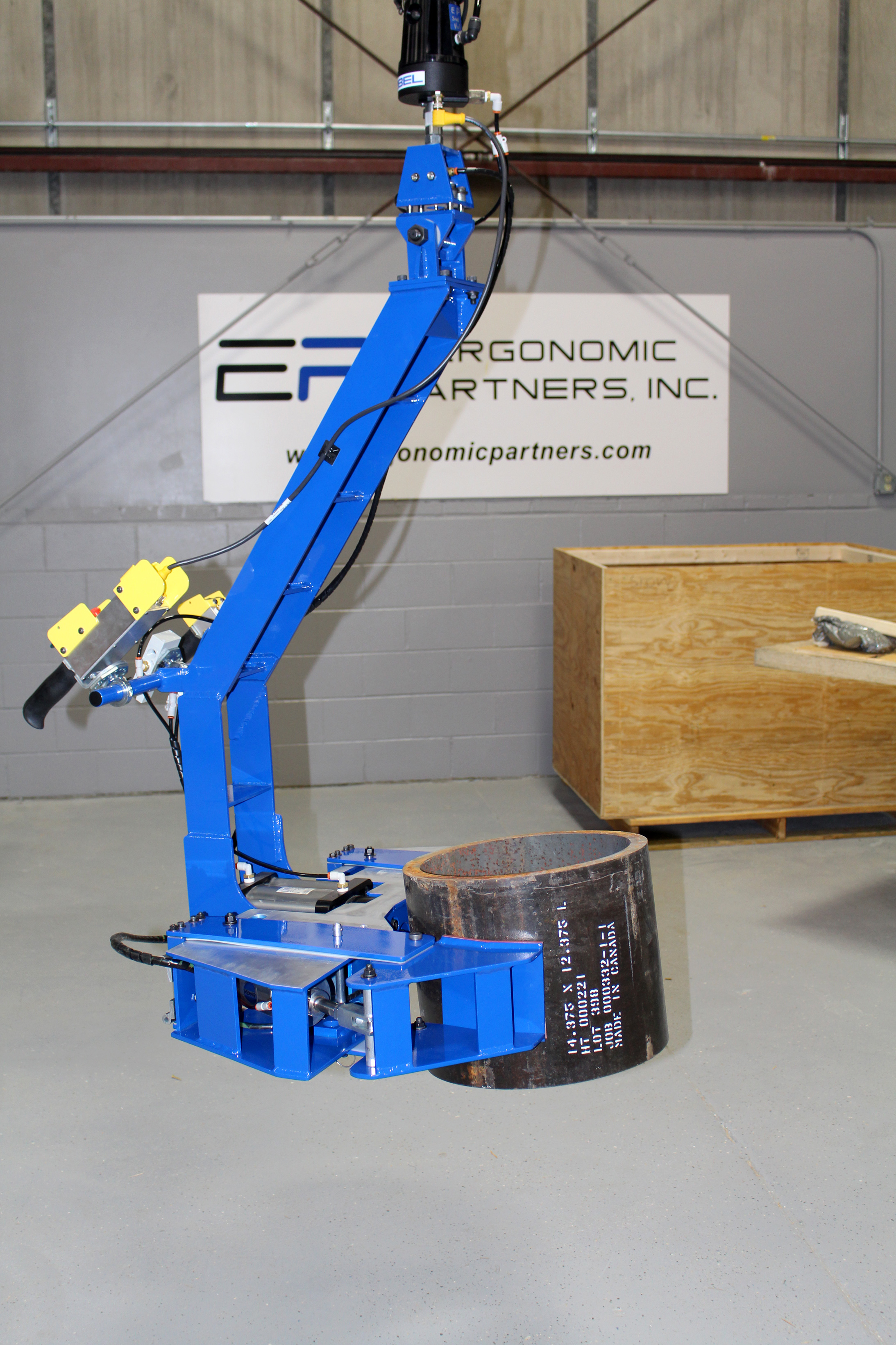Ergonomic Lifting Solutions : Ergonomic lift assists and lifting devices for rolls