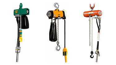 Air Powered Chain Hoists