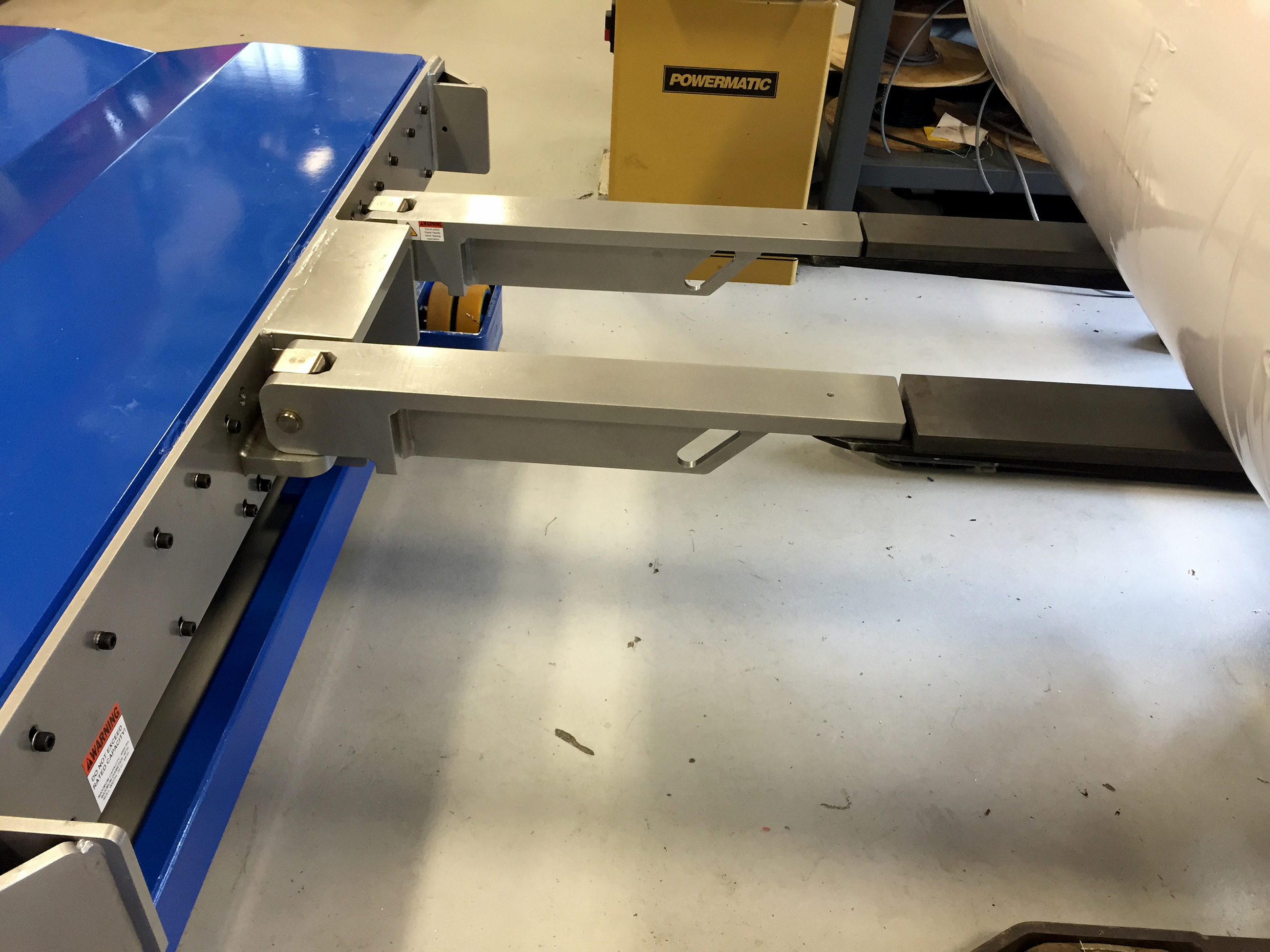 Portable Lift Table Paper Roll Handling Equipment