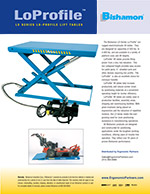 Bishamon LoProfile LX Series Lift Table Brochure