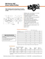 CM 632 Plain Push Trolley Brochure