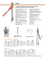 CM 640 Come Along Lever Hoist Brochure