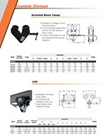 CM Beam Clamps Brochure