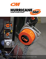 CM Hurricane 360 Hand Chain Hoist Brochure