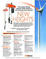 CM Wind Industry Hoists