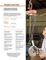 CM ShopAir Chain Hoist Brochure