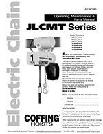 Coffing JLCMT Chain Hoist Manual
