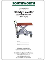 Dandy Leveler New/Old Manual