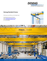 Demag Standard Crane and Components Brochure