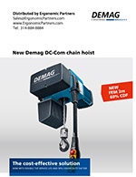 Demag DC-Com Electric Chain Hoist Brochure