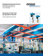 Demag DC-Pro and DCM-Pro Chain Hoist Brochure