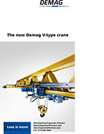 Demag V-Type Crane Brochure