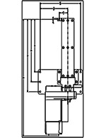 Dyna-Lift 4-Post Electric Pump CAD Drawing
