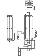 Dyna-Lift 4-Post Manual Pump CAD Drawing