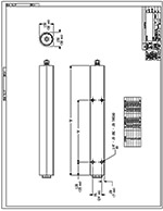 Dyna-Lift D1A Cylinder CAD Drawing