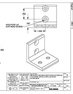 Dyna-Lift L-Bracket Drawing P/N DH-08000