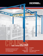 Gorbel Free Standing Workstation Bridge Crane Brochure