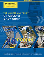 Gorbel's G-Force and Easy Arm Brochure