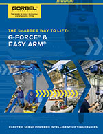 Gorbel G-Force and Easy Arm Q2 / iQ2 Brochure