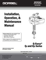 Gorbel's Intelligent Lifting Devices G-Force Q2/iQ2 Manual