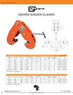 Grippa Heavy Duty Beam Clamp Brochure