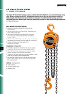 Harrington CF Hand Chain Hoist Brochure