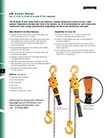 Harrington LB Lever Hoist Brochure