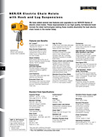 Harrington NER/ER Hoist Brochure