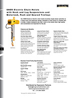 Harrington SNER Electric Hoist Brochure