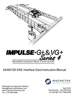 G+ and VG+ Series 4 VFD Interface Card Manual