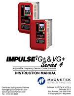 G+ and VG+ Series 4 VFD Manual