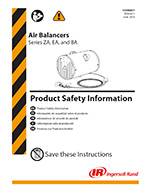 IR Zimmerman Air Balancer Product Safety
