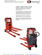Interthor Fork-Over Pallet Stackers Brochure