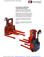 Interthor Fully Powered Pallet Stackers Brochure
