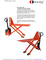 Thork-Lift Pallet Jack & Positioner
