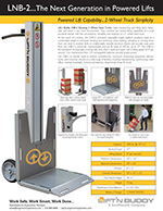 Lift'n Buddy Powered Hand Truck Brochure