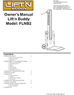 Lift'n Buddy Powered Hand Truck Manual