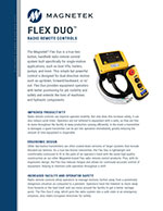 Flex Duo Wireless Radio Control Brochure
