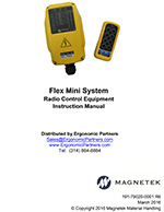 Magnetek Flex Mini Radio System Manual
