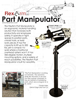 Part Manipulator Arm Specs by FlexArm